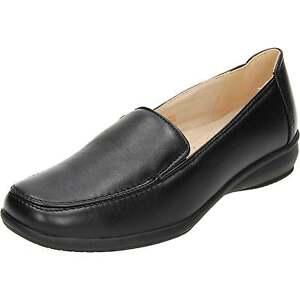 en Work doublées légères confortables Keller cuir Dr Chaussures Smart Black Hq64RZ