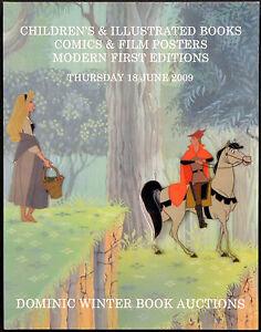 Children S Illustrated Books Comics Film Posters 2009 Uk Auction Catalogue Ebay