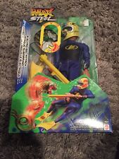 RARE MATTEL 2002 MAX STEEL ELECTRO EEL ATTACK 12'' ACTION FIGURE SEALED HTF