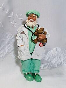Vintage-Possible-Dreams-LTD-Clothtique-Dr-Santa-Claus-Christmas-2001