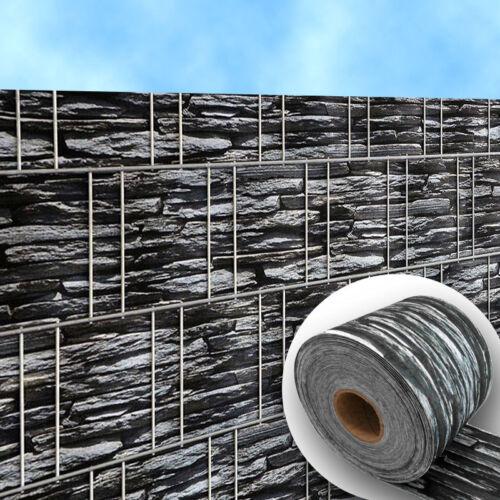 bedruckte zaun sichtschutz streifen f r doppelstabmatten kollektion erkunden bei ebay. Black Bedroom Furniture Sets. Home Design Ideas