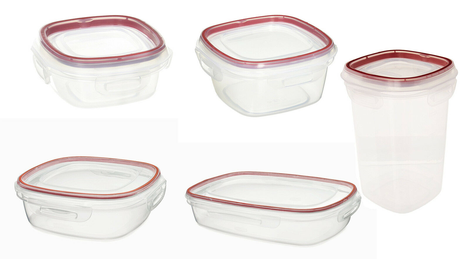 Rubbermaid Lock Its Food Storage Containers With Lids 11