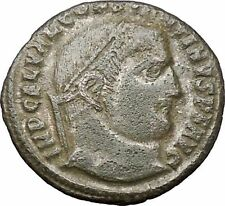 Constantine I 'The Great' 313AD Ancient Roman Coin Jupiter Zeus Cult i48053