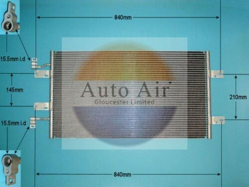 Fit with RENAULT TRAFIC II Condenser air conditioning 16-1382 2.5L