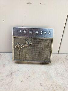 Vintage Fender Guitar Amplifier Amp Belt Buckle ** Free Shipping **