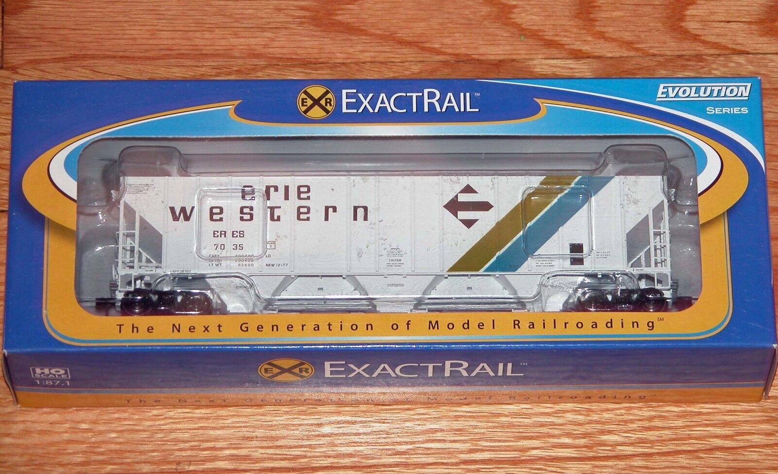 Exactrail ee-1704-4 evolution - serie evans 4780 cu und hopper erie westlichen eres
