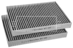 Borg-amp-Beck-Interior-Cabina-Polen-de-Filtro-de-aire-BFC1180-Original-5-Ano-De-Garantia
