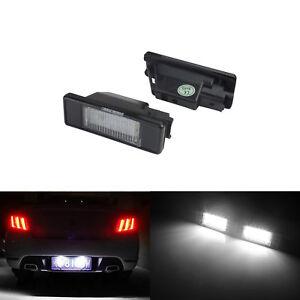 LED lampe éclairage plaque Peugeot 106 II 1007 207 CC 3008 307 308 CC 406 407