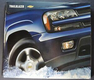 2004-Chevrolet-Trailblazer-Truck-Brochure-LS-LT-4x4-Excellent-Original-04
