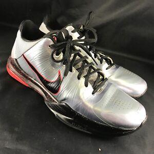 c51016ecf3d8 2010 Nike Zoom Kobe V 5 WOLF GREY BLACK-DARING RED 386429-006 US ...