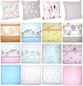 Deckokissen Kinderkissen Kissen Kopfkissen Babykissen f/ür Baby F/üllmaterial aus Polyester Babykopfkissen 30x40 cm Bezug aus Baumwolle