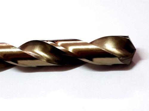 2pcs Twist Drill 12mm HSS Co 5/% cobalt drill steel alloys Straight Shank Flamex