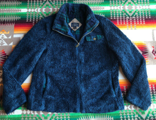 Pendleton Womens Deep Pile Monkey Fur Jacket Size