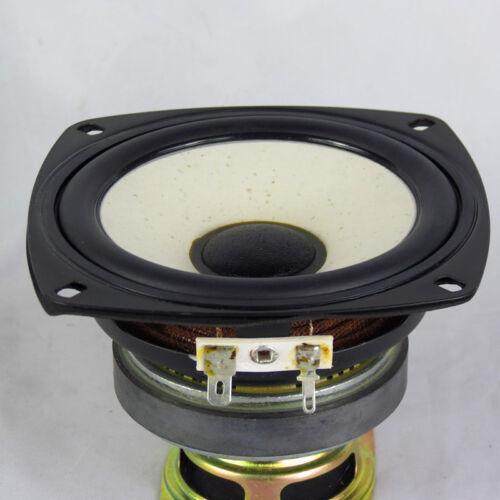 """1PCS 4/"""" inch 6Ohm 35W Midrange Audio Speaker Stereo Subwoofer Loudspeaker Horn"""