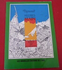 Soft-Cover-French-Booklet-Histoires-a-Conter-Dans-la-Main-Gilles-Vigneault