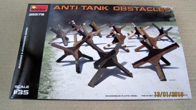 MINIART MODELS 1//35 ANTI-TANK OBSTACLES35579