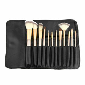 Details About Brushes Holder Bag Cosmetic Makeup Container Case Roll Pouch