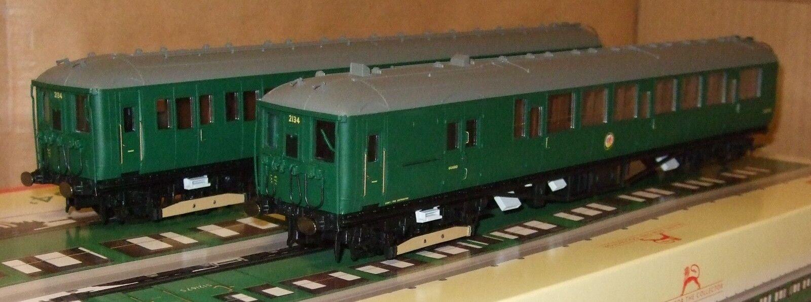 Hornby R3162 BR Class 401 2-BIL EMU No. 2134 BR verde livery**NEW**