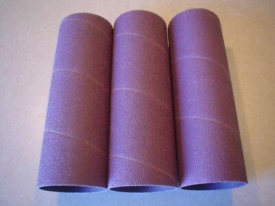 """6 sleeves 1-1//4/"""" x 4-1//2/"""" 80 grit sanding sleeves"""