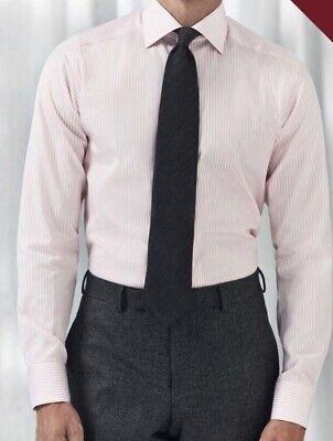 NEW ETON Slim Fit Dress Shirt 44 17 1//2 MSRP $285