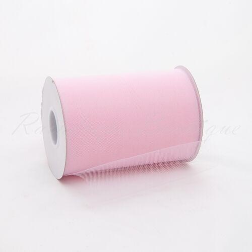 "Tutu TULLE ROLLS 6"" wide x 100 yards soft Nylon Netting Craft Fabric"