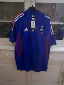 maillot de football vintage , équipe de france taille L , neuf avec étiquette .