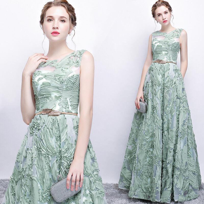 Edel Abendkleider Cocktailkleid Ballkleider Lang Kleider Party Dress YSGZ08