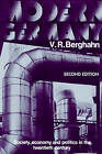 Modern Germany: Society, Economy and Politics in the Twentieth Century by Volker R. Berghahn (Paperback, 1987)