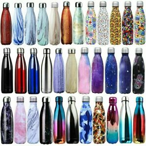 Personalised Mothers Day Gift Water Bottle Double Wall 500ml Eco Friendly Idea