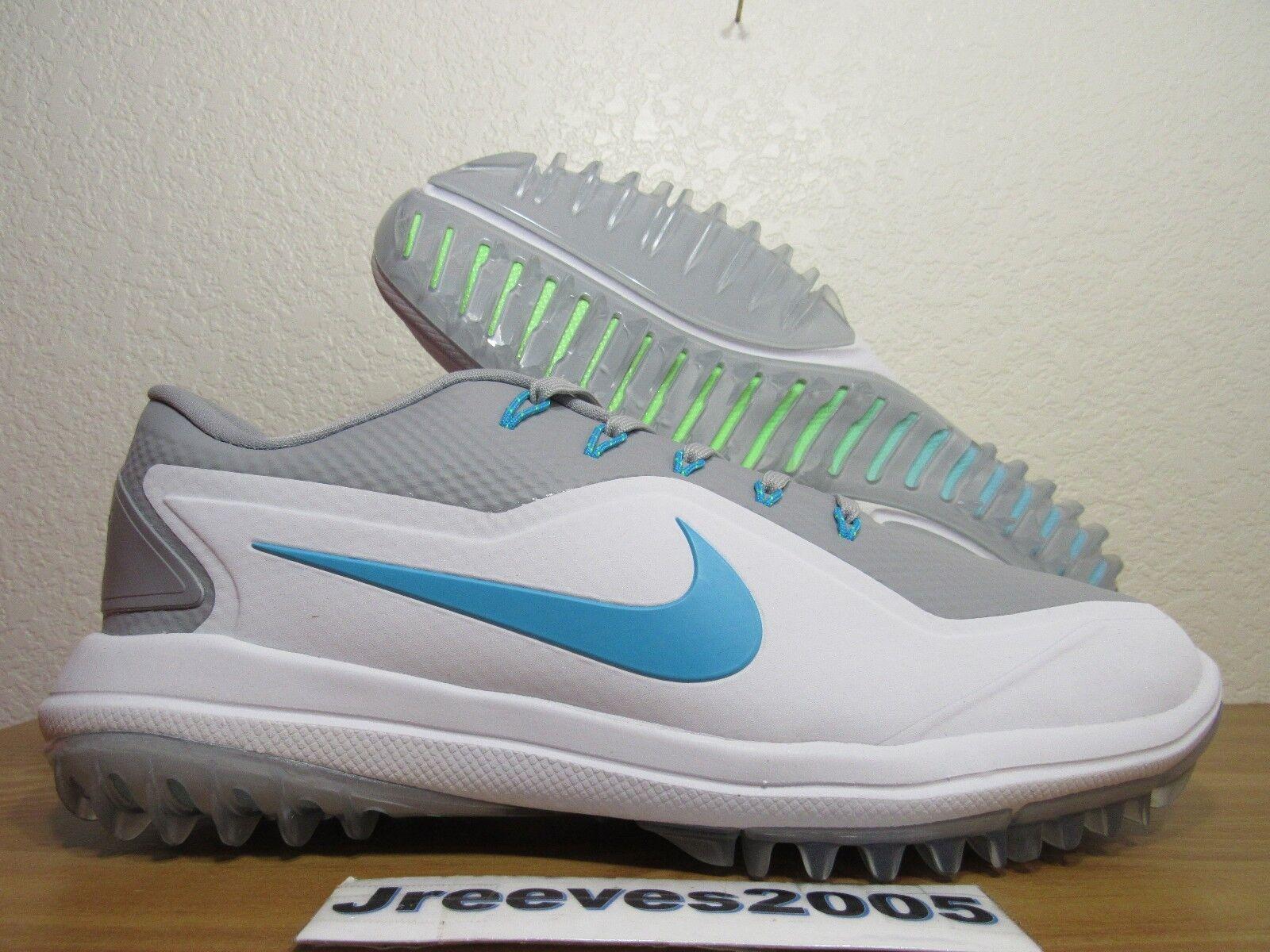 official photos f1386 544a0 Nike Lunar Lunar Lunar Control Vapor 2 Golf Shoes Sz 9 100% Authentic Wolf  Grey 899633 001 b61047