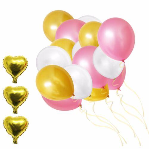 Dekorationen-Set 105-tlg Party-Latexballons /& Folienbal