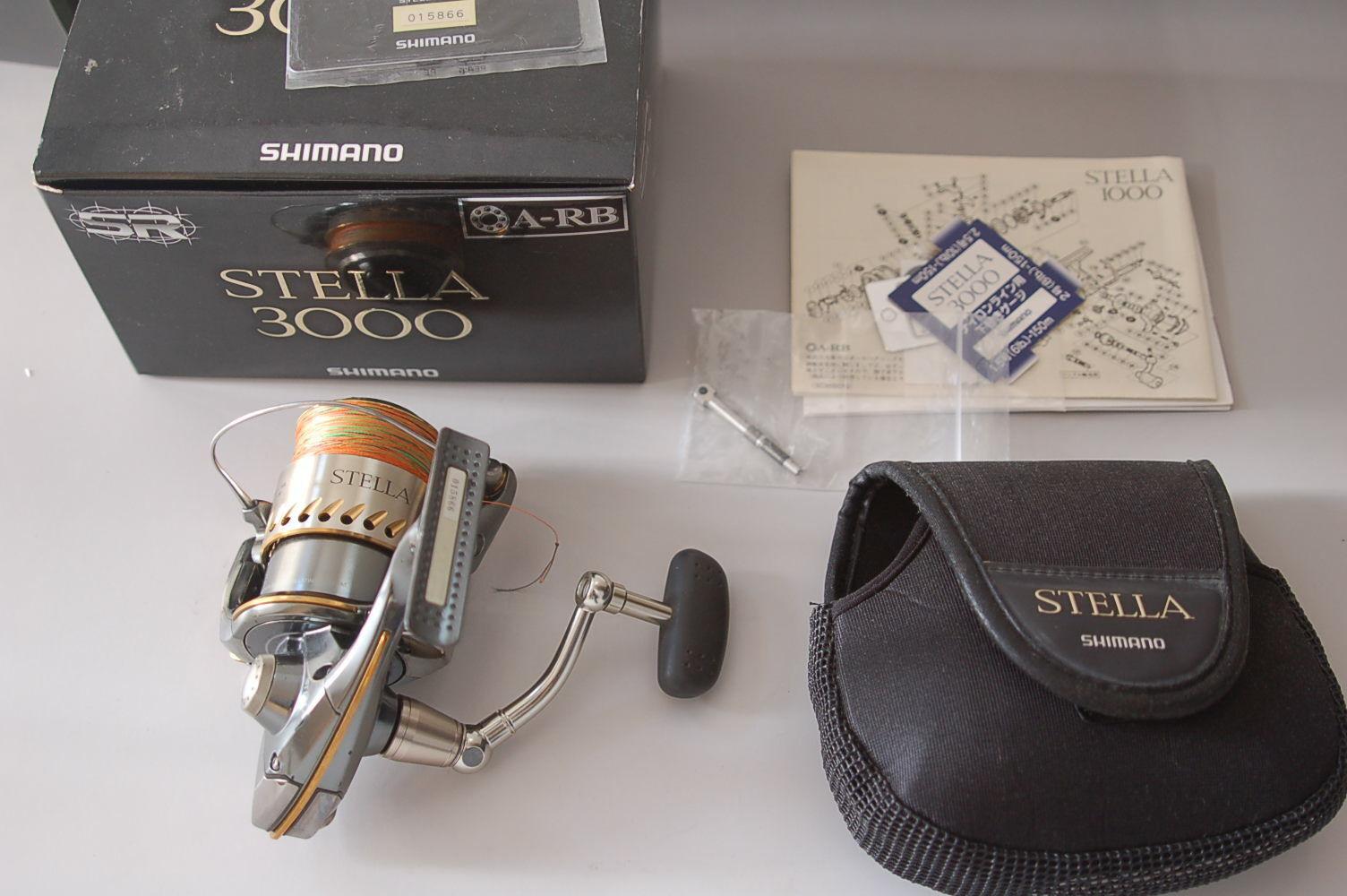 2004 SHIMANO STELLA 3000 In Box Good