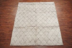 8X10-Modern-Moroccan-Hand-Knotted-Wool-Area-Rug-Contemporary-Style-8-1-x-9-10