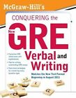 McGraw-Hill's Conquering the New GRE Verbal and Writing by Kathy Zahler (Paperback, 2011)