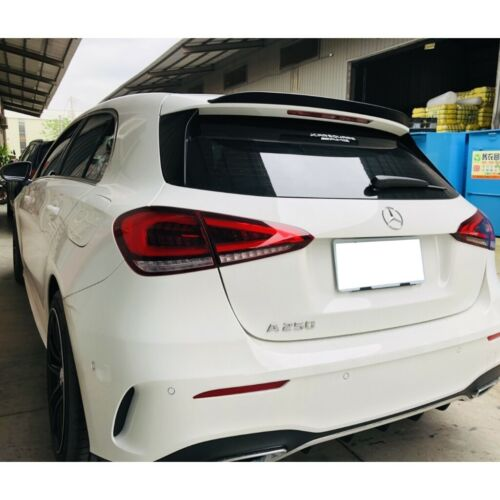 Stock 284 PDL Rear Trunk Spoiler Wing For 18~19 Benz A class  W177 Hatchback