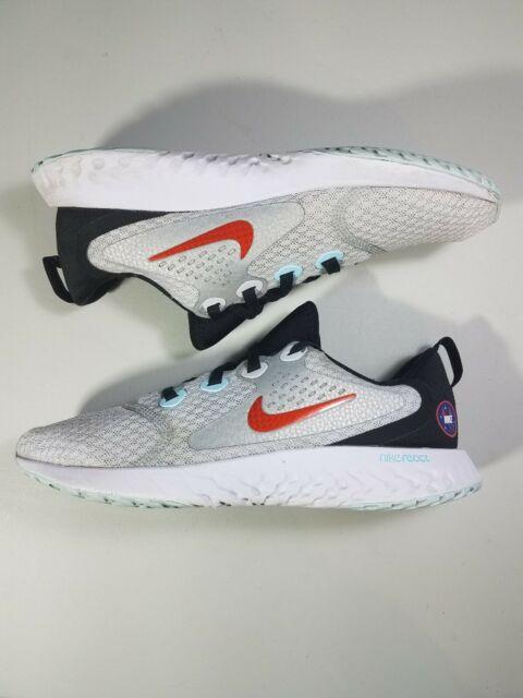 Nike Legend React SD AR0117-001 Running Shoe, Size 5Y / Womens 6.5, Gray