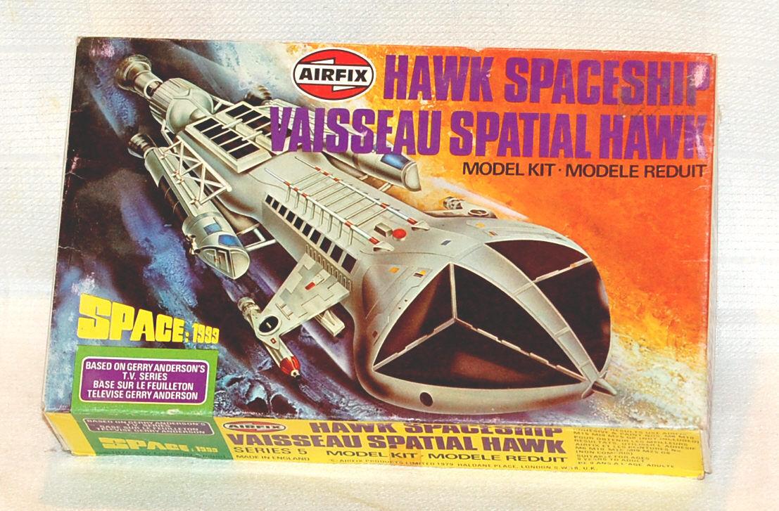 Space  1999-cosmos 1999-rare  hawk airfix-original box-original box  loisir