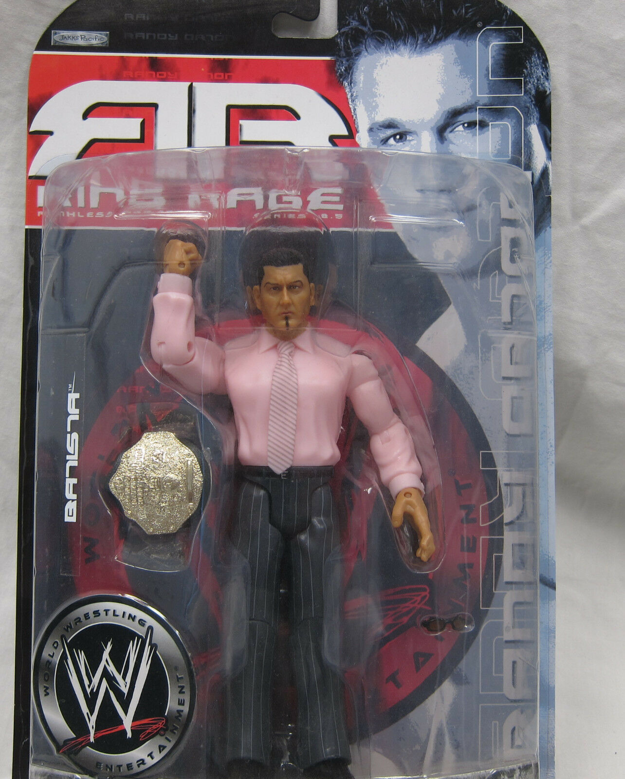 RARE MISPRINT WWE Ruthless Aggression 18 Batista Randy Orton Wrestling Figure