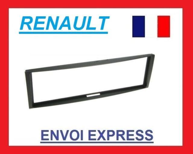 Adaptateur de façade 1-DIN Renault Megane III 2008 /> noir