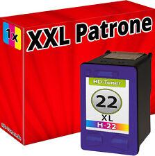 DRUCKER PATRONE REFILL für HP 22XL TINTE 4315 4355 J3680 PSC 1410 1415 FAX3180 w