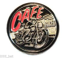Klassisches 1960er Cafe Racer Britisch- Motorrad Tonnen Auf Junge Metall TT
