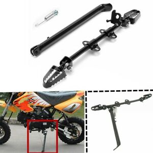 Universal-Motorcycle-Side-Kick-Stand-Brake-Foot-Pedal-125cc-110cc-Pit-Dirt-Bike