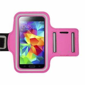 Universal Sports Running Arm Band Cell Phone Case Holster- Pink - Free Shipping!