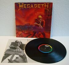 Megadeth - Peace sells... But who's buying?   Capitol 1986   VG-   Cleaned LP