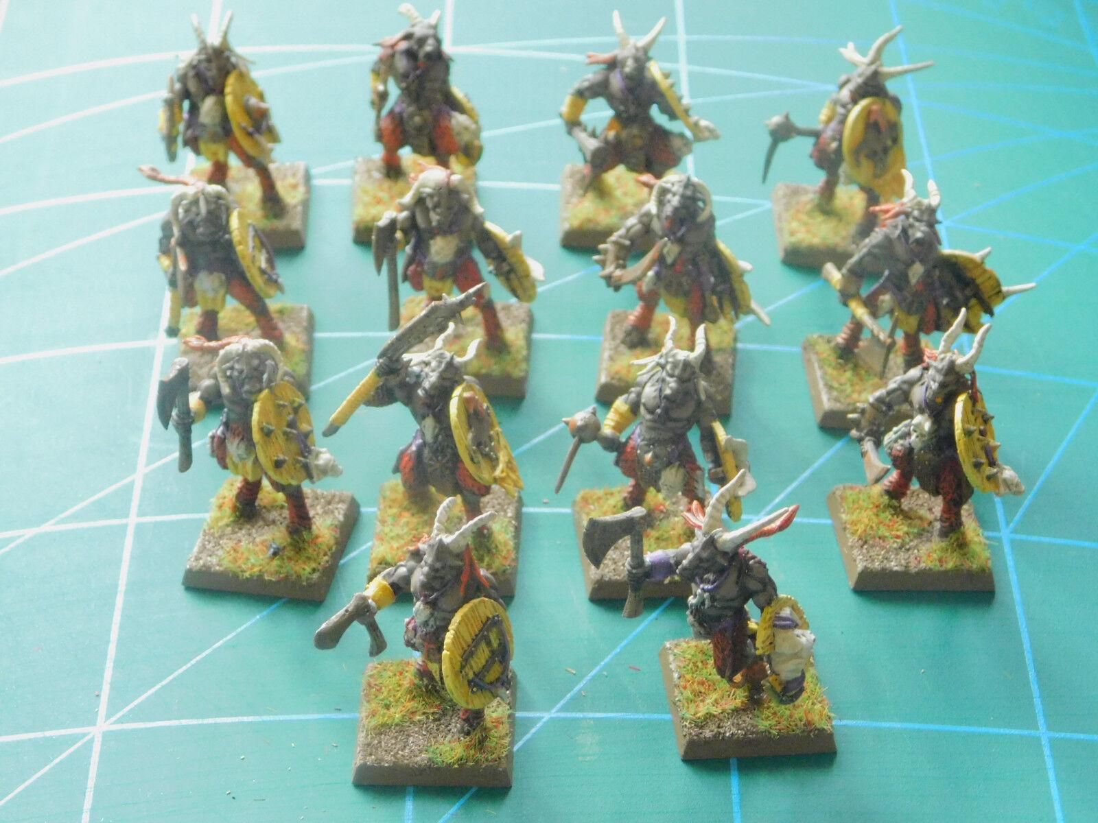 14 warhammer 40k dungeons dragons beast creature painted plastic figures