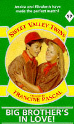 1 of 1 - Good, Big Brother's in Love (Sweet Valley Twins), Suzanne, Jamie, Book