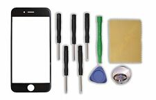 """Black Front Outer Screen Glass Lens Replacement Parts for Apple 4.7"""" iPhone 6"""