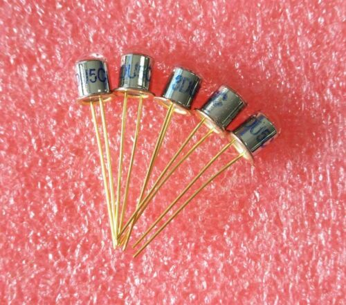 5pcs New 3DU5C Metal Package Silicon Phototransistor NPN Transistor 2Pins