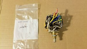 Pioneer SX-700T receiver input selector switch S16-037-C