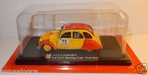 ELIGOR-AUTO-PLUS-CITROEN-2CV-RACING-CUP-OUI-OUI-N-73-FUCHS-1-43-IN-BLISTER-BOX